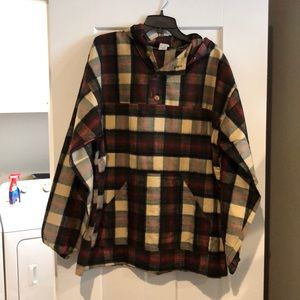 Oversized camping sweatshirt